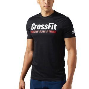 Reebok CrossFit T-shirt black size large